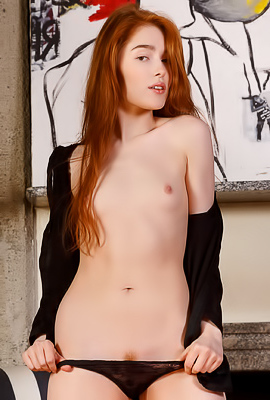 Jia Lissa Stiff Pink Nipples Between Her Fingertips